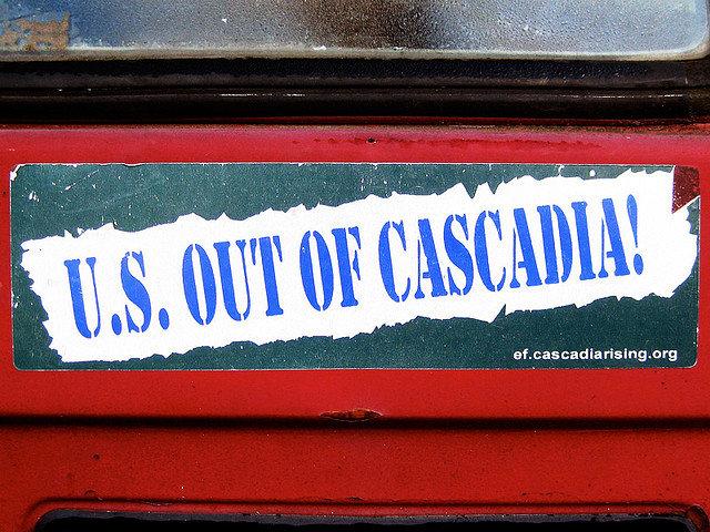 Cascadia Bumpersticker Free Cascadia