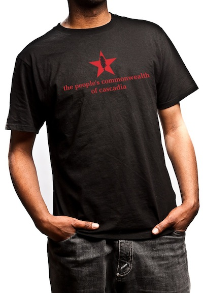 people's commonwealth of cascadia T-shirt