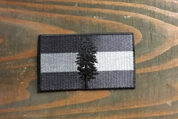Tactical Cascadian Flag Patch