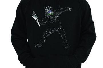 Cascadia Banksysquatch Sweatshirt