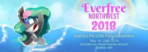 Everfree Northwest, Seattle's My Little Pony Fan Convention! @ DoubleTree Hotel Seattle Airport | | |