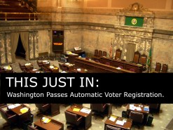 Washington Senate Passes Automatic Voter Registration