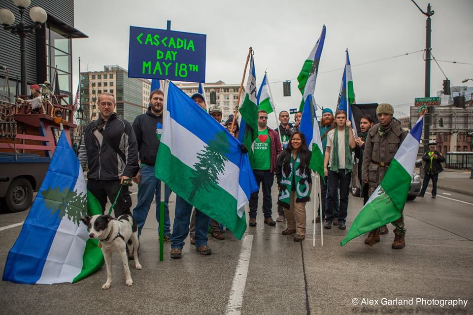 Seattle cascadianow rally