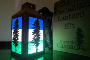 Cascadia DIY Lantern Kit. Made of UpCycled materials