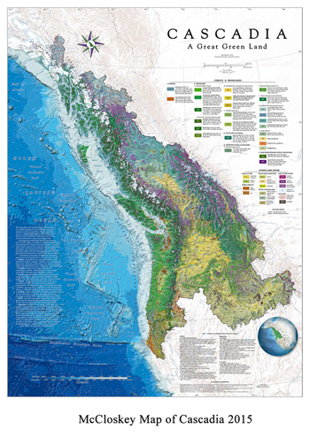 David McCloskey Cascadia Map