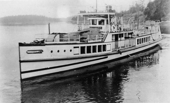 First diesel powered vessel build on Puget Sound, the Ferry Suquamish. This Week in Cascadia: April 22nd - 28th