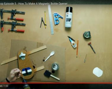 DIY Digital Trends Cascadia Magnetic Bottle Opener